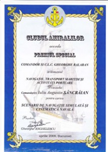 diploma clubul amiralilor mica